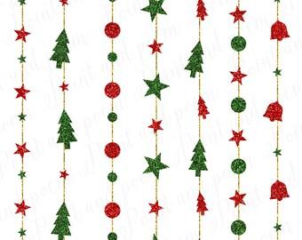 christmas clip art etsy rh etsy com christmas party clip art black and white christmas party clipart free