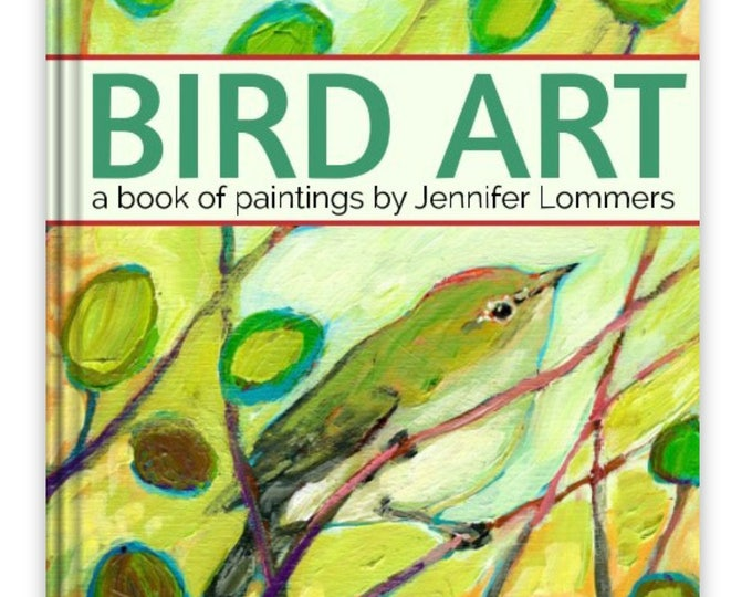 Featured listing image: BIRD ART painting our feathered friends - a Book of Art by Jenlo
