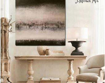 Art, Black and White Art, Original Artwork, Canvas Art, Minimalist Art, Modern Art, Contemporary Art, Wall Art, Wall Décor, Large Art