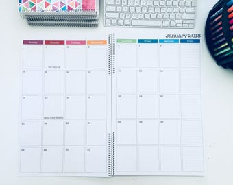 Weekly Planner Pad 2018 Planner Pick Your Banner Desk