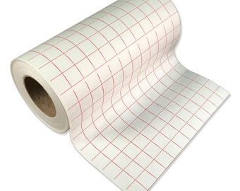 Transfer Tape  w/red grid for your CRICUT Expression - crafts - scrapbooking etc - Lined