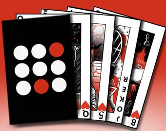 Blurryface Playing Card Deck
