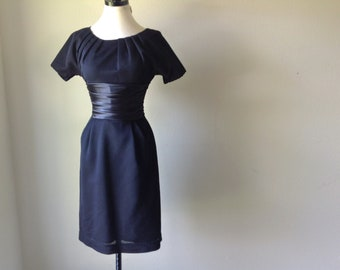 60s Cocktail Dress / Holiday / 60s