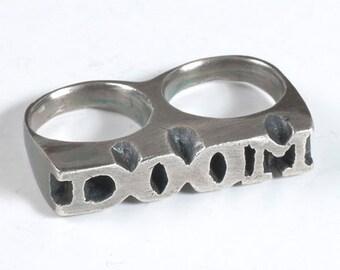 DOOM Two Finger Ring