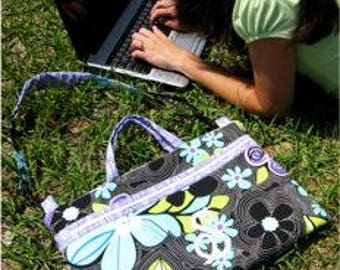 Laptop Bag Pattern by Sue O'Very Designs - Paper Printed Pattern