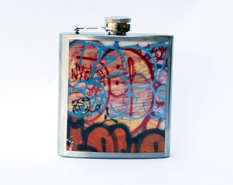 FLASK - Graffiti Flask, NYC Flask