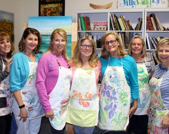 Paint Therapy--One party person, or ONE workshop