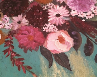 FLORAL PAINTING - Customizable