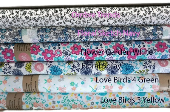 Cotton Fabric by the yard perfect for fashion sewing and quilting
