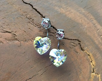 Heart SWAROVSKI Earring