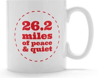 Marathon mug. 26.2 mug. 26.2. Runners mug. Mug for runners. Marathon gift. Running gift.