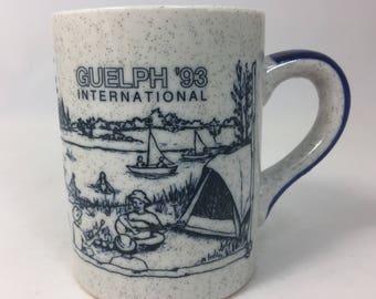 Girl Guide Japan Ceramic Mug from Guelph '93 International Guides Canada from International Gathering from 1993 Living In Harmony