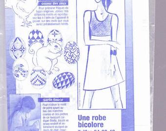 two-tone dress size 34.38.42
