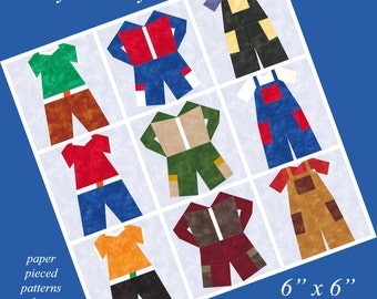 Ready To Play - Interchangeable Clothing to Paper Piece