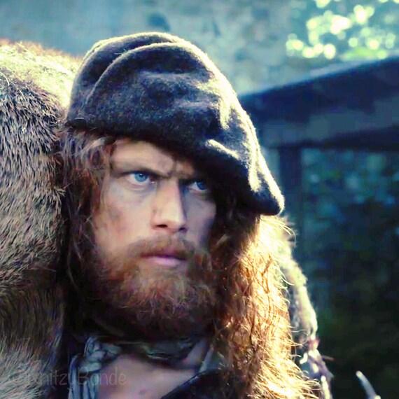 Jamie S Scottish Tam The Dunbonnet Outlander Hand Knit