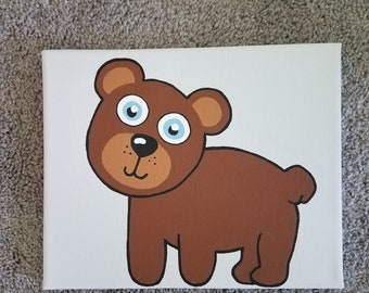 Baby Forest Canvas