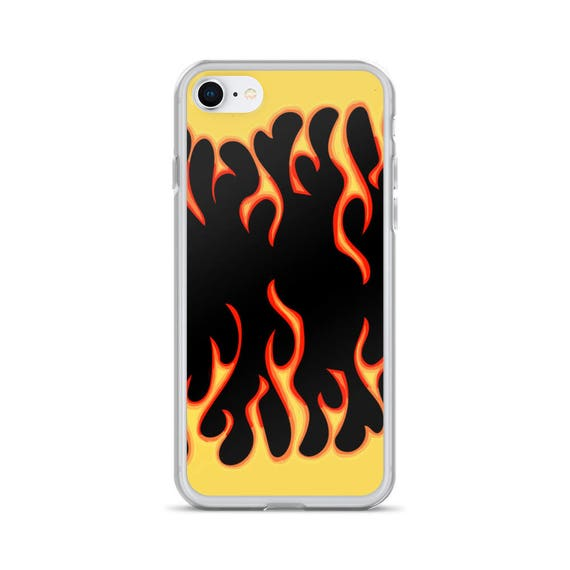 iphone 7 case flames