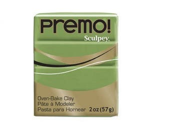 Sculpey Premo 57 g - Spanish Olive - Ref POPE5007 - maintained price until the stock!
