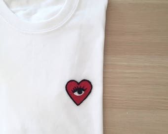PERSONALIZED PATCH T-shirt - 100% cotton
