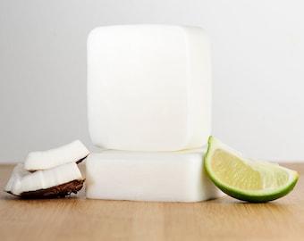 Coconut Lime Soap, Lime coconut Soap, Natural Soap, Handmade Soap, Bar Soap