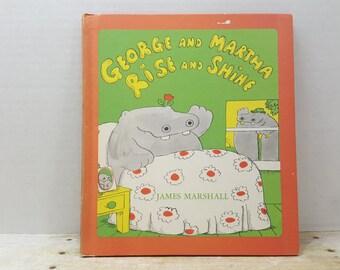 George and Martha Rise and Shine, 1976, James Marshall, vintage kids book