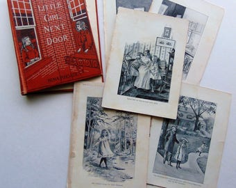 1903 Antique Book Covers and Illustrations