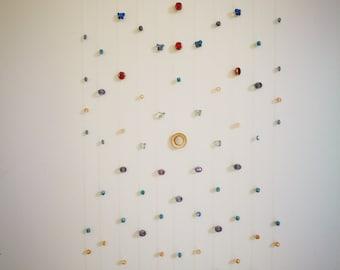 Crystal Beads Suncatcher Hanging Ornament - Model Morocco