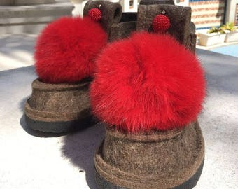 Valenki, Felt Shoes, Felt Boots, Wool shoes, Winter boots, Winter shoes, Warm shoes, Warm boots.