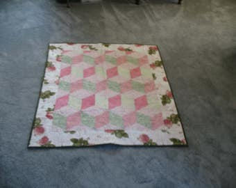 hand made lap /baby quilt