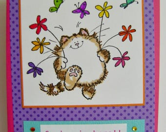 Spring is Here!! Note Card