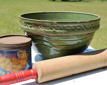 Antique McCoy Pottery Bowl