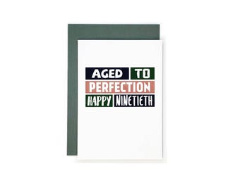 6 year old birthday card etsy happy 90th birthday card ninetieth birthday ninety birthday 90 years old ninety bookmarktalkfo Image collections