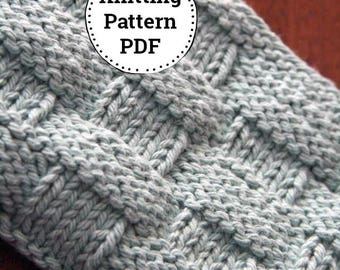 Knitting Pattern   Dishcloth Pattern   Knitted Dishcloth   Mom and Apple Pie