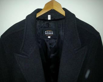Mens Vintage Oversized Coat Size 42