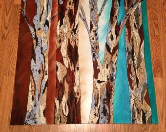 Layers  (Birch Bark Trees)