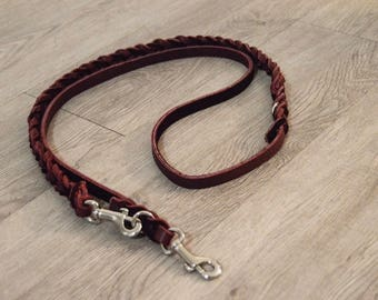 Custom Half-braided Service Dog Style Leash