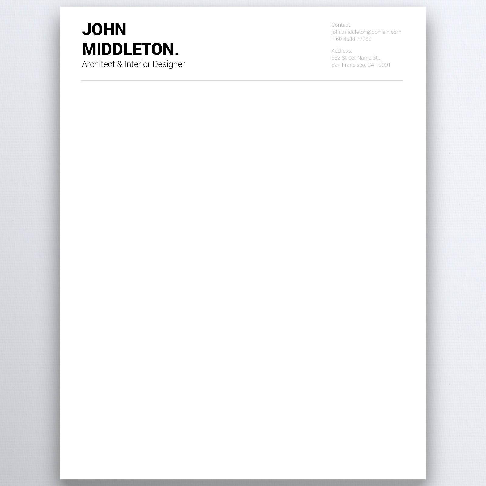 Business letterhead personal letterhead letterhead design zoom biocorpaavc Choice Image