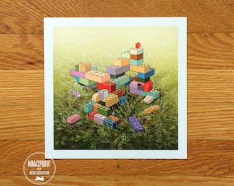 Inland Bricks - Fine Art Print by Nicole Gustafsson