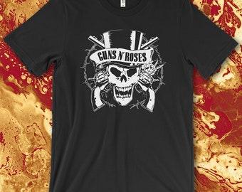 Guns N' Roses Screen Printed T-Shirt