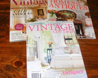 The Cottage Journal Vintage Cottage 2018 Best of Vintage Beautiful Summer 18 Victoria Homes & Antiques 2018 Magazine Lot