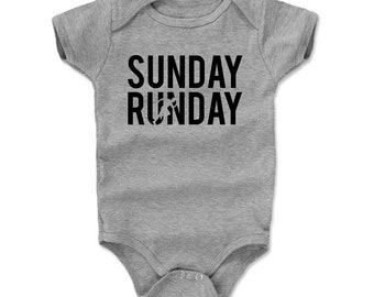 Runners Baby Clothes | Cardio Workout Kids Romper | Sunday Runday