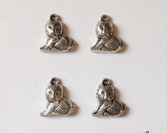 6 sloth charms - SCS133