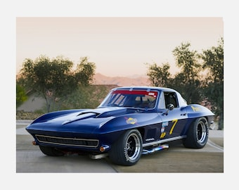 1967 Chevrolet Corvette Sting-Ray Poster or Canvas