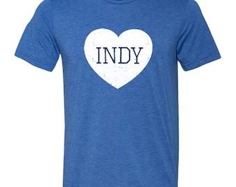 Indianapolis Love Vintage Tri-blend T-Shirt