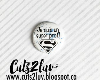 "Badge 1 ""Super teacher"