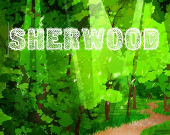 Theatre Dance Play. Sherwood. Pulpworm Original by Zoe Murphy.