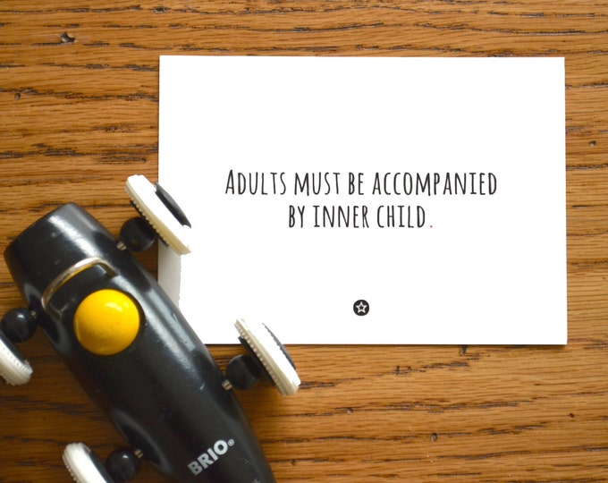 Card Adults and Their Inner Child