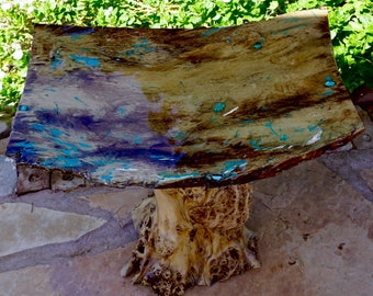 Cottonwood Inlaid Coffee Table
