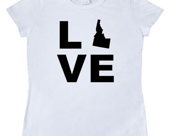 Love Idaho Women's T-Shirt by Inktastic