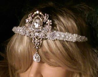 Winter Bride Crown